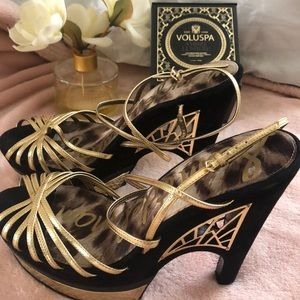 Sam Edelman platform shoes size 10